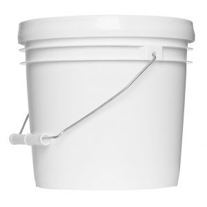 White Gallon Bucket